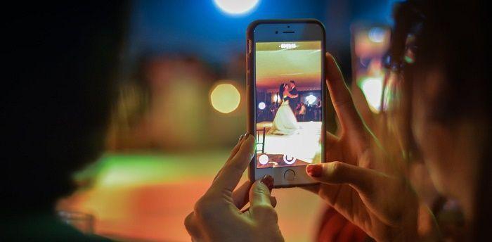 Filtros en las fotos de boda