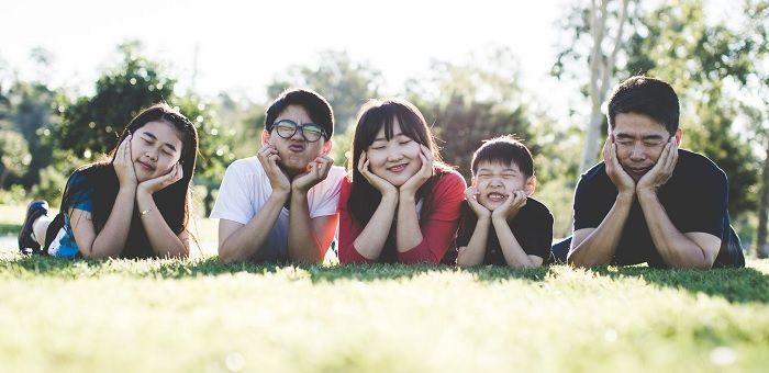 Foto con buen ambiente familiar