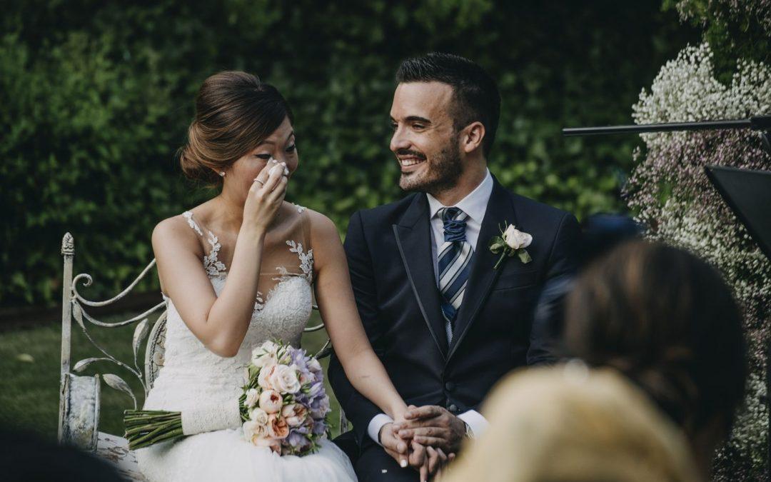 La importancia de las fotos de boda espontáneas