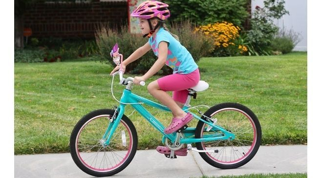 Bicicleta como regalo de comunión