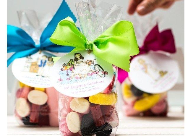 Caramelos de regalo de comunión