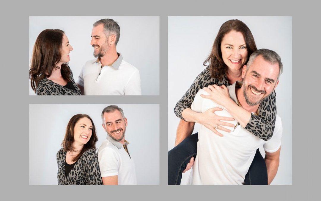 Sesión de fotos en pareja