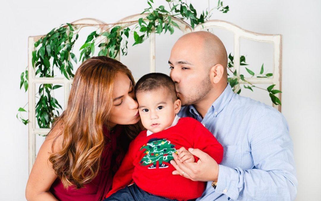Fotos Navidad (Jorge, Yuliana, Benja y Joaquín)