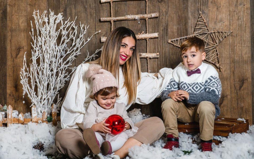 Sesión de fotos Navidad – Zaira, Rubén y Lía